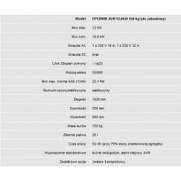 AGREGAT HONDA EP12000E AVR CORNEA ŁÓDŹ